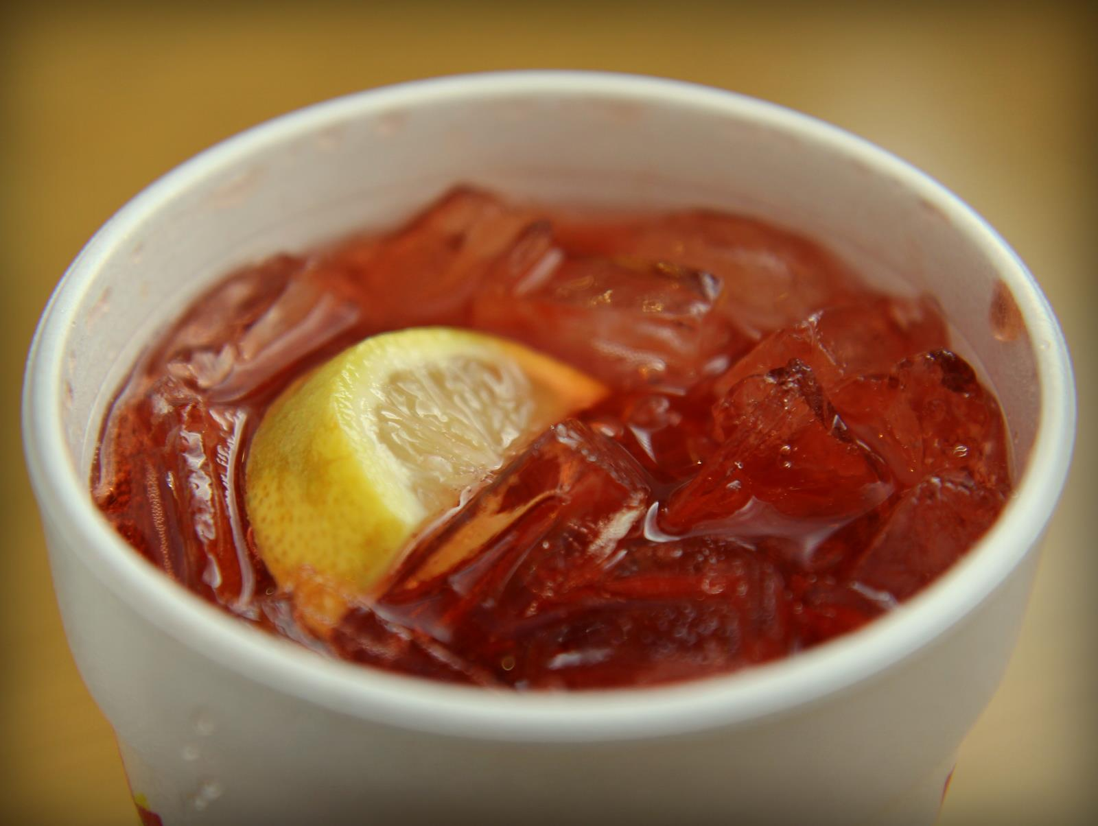 R.O.'s Bar-B-Cue, Cherry-Lemon Sun-Drop
