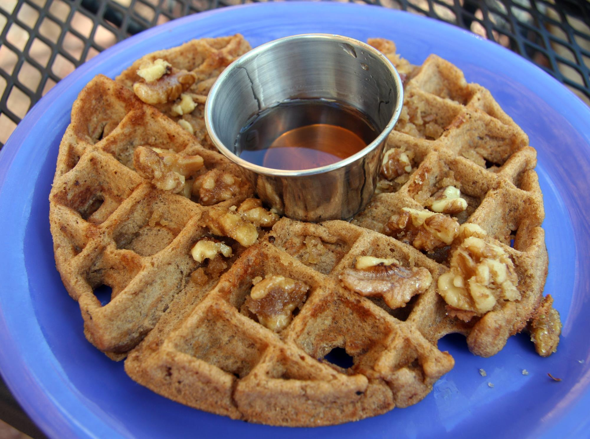 Eden Alley, Whole Wheat Cocoa Waffle