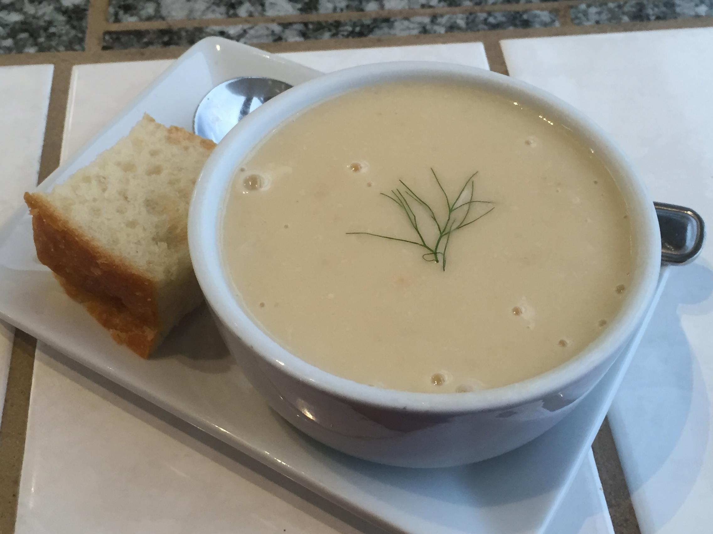 Local Ocean Seafoods, Dungeness Crab Soup