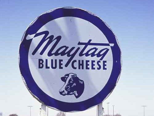 Maytag Dairy Farms - Sign