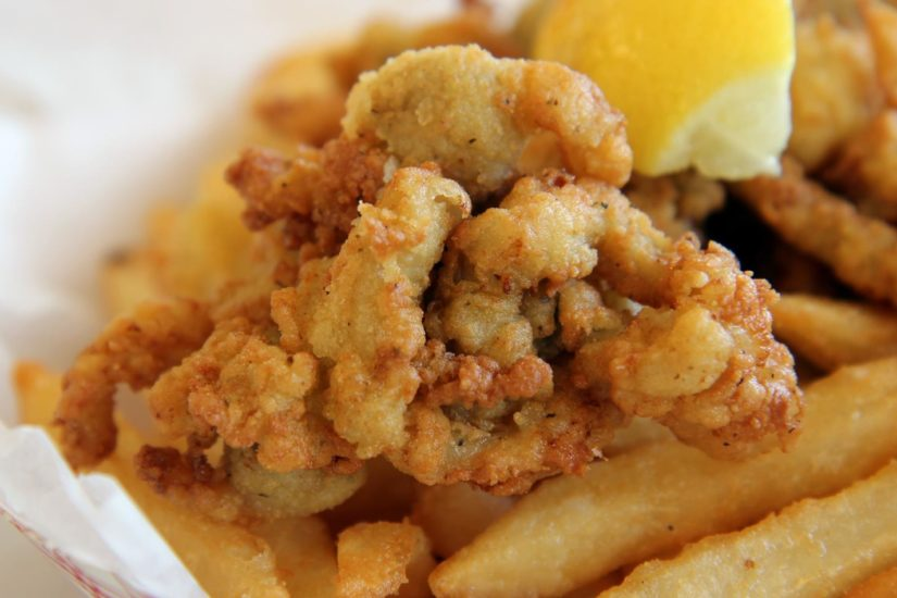 Clam Castle - Fried Clams