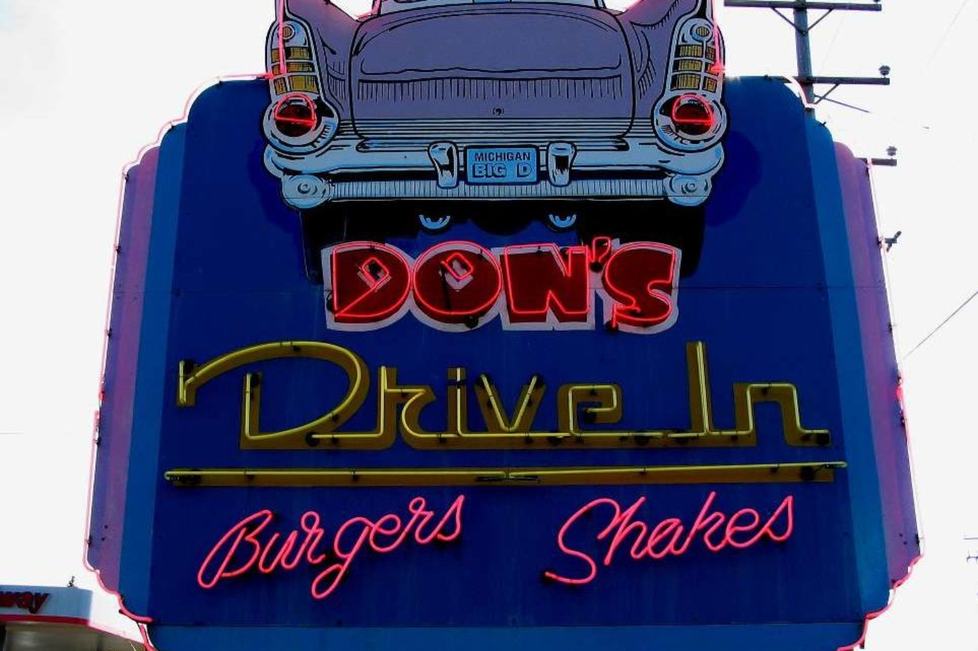 Don's Drive-In - Sign