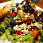 Sunset Cafe & Loose Wolf Saloon, Northwest Rain Forest Salad