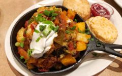 Black Cow Cafe Chile Stuffed Skillet